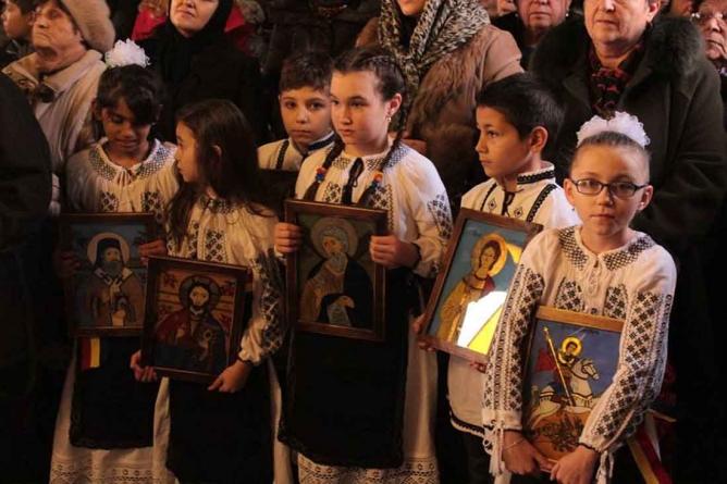 Târgu-Secuiesc, Procesiune Religioasă Ortodoxă în Duminica Floriilor!