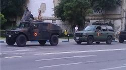 Militarii români participă la campania de plantare de arbori la Mărăşeşti