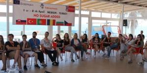 """""""NO SUGAR ADDED"""" – MERSIN, Turcia, un proiect în parteneriat cu echipa noastră!"""