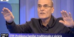 """Mai mult decât sfidător! Cristian Tudor Popescu a numit """"handicapați mintal"""" pe cei care ies în stradă la mitingul pro familie."""