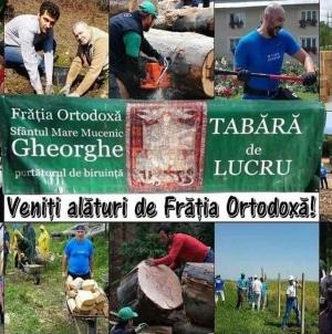 Tabără de lucru și educație românească în Delta Dunării!