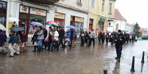De Florii la Târgu -Secuiesc, prima procesiune religioasă ortodoxă din istoria știută a orașului!