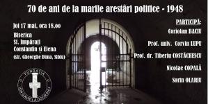 Jertfele Marii Uniri! 70 de ani de la marile arestări politice.