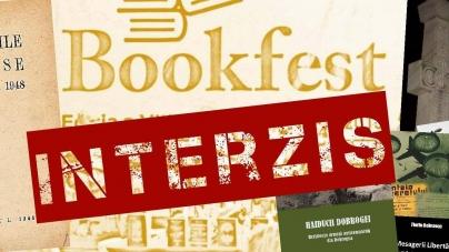 PROTEST CONTRA CENZURII! La Bookfest 2018, pentru CĂRȚILE INTERZISE.