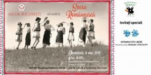 """""""Seară Românească"""" organizată de ASCOR București!"""