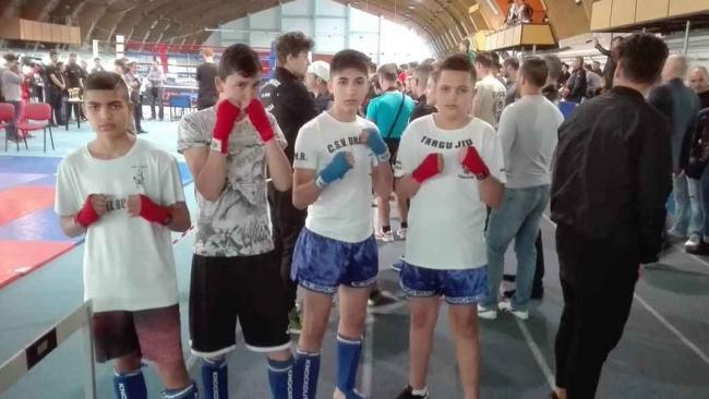 Sportivi gorjeni premiați la Campionatul Național de Kick Boxing și Kick Light, Cupa României K1- FRAMC!