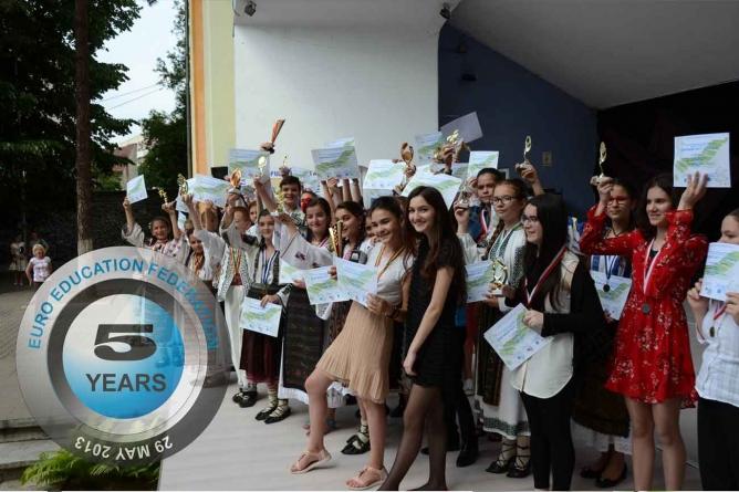 5 ani de la înființarea EURO EDUCATION FEDERATION!