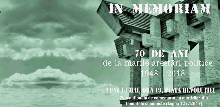 14 MAI – ziua națională a comemorării MARTIRILOR din TEMNIȚELE COMUNISTE!