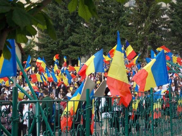 Ziua Independenței de Stat a României la Sf. Gheorghe, jud. Covasna!