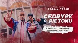 O apariție uimitoare! Cedry2k cântă și vorbește cu tinerii din Alba Iulia!