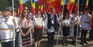 Românii din Covasna împreună cu braşovenii alături de fraţii de pe Graniță, de la Cărei.