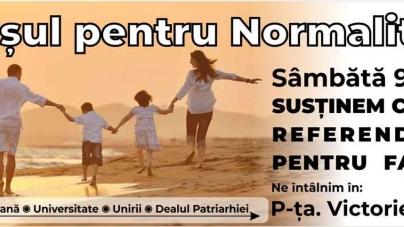 """Comunicat de presă: """"Marșul pentru Normalitate!"""""""