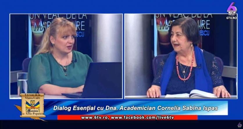 """""""Un Veac de la Marea Unire""""- o emisiune realizată de Alba Catrinel Popescu!"""