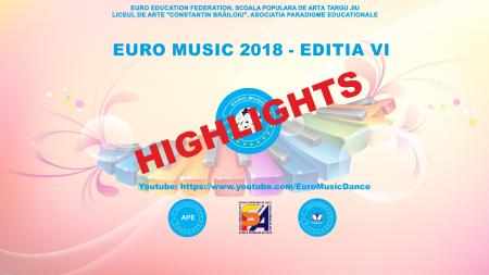 EURO MUSIC 2018 – HIGHLIGHTS (EDITION VI)