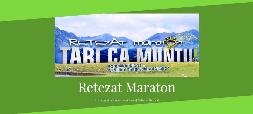 Maraton în Munții Retezat pe 4 august 2018!