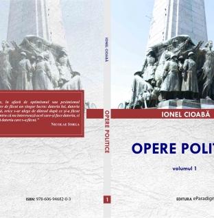 """În curând! O nouă ediție a cărții """"Opere politice"""", volumul I!"""
