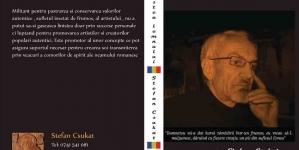 """În curând! Ștefan Csukat, președintele """"Coaliției pentru Cultură"""", va tipări cartea """"Povestea lemnului""""!"""