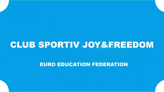 "Exclusiv! Echipa Federației ""EURO EDUCATION"" din Gorj a înființat astăzi Clubul Sportiv JOY&FREEDOM!"