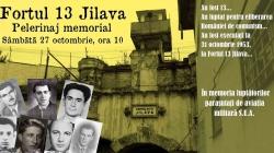FORTUL 13 JILAVA. Pelerinajul memorial dedicat luptătorilor parașutați de aviația SUA și executați la 31 octombrie 1953.