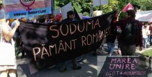Minoritari joacă ceardaș pe monumentele românilor.