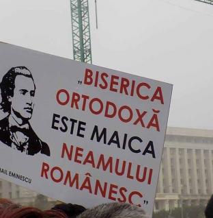 """O critică a """"liber-cugetătorilor"""". """"Cine combate Biserica, …numai român nu e"""" – MIHAI EMINESCU"""
