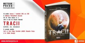 """Lansare carte: """"Tracii. Oameni, zei, războaie"""""""