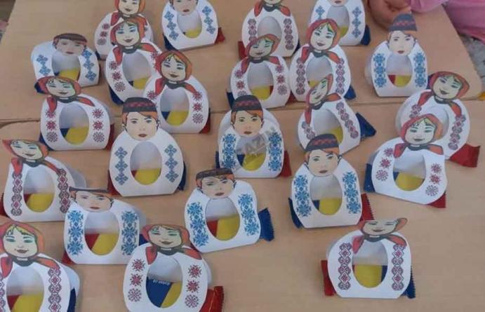 Centenarul Marii Uniri celebrat de preșcolarii din Gorj!