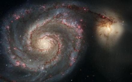 O galaxie satelit se va ciocni cu Calea Lactee