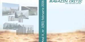 Exclusiv! A apărut numărul 50 al revistei MAGAZIN CRITIC