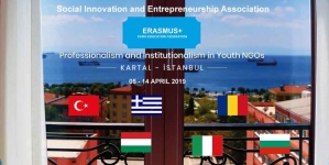 Proiect câștigat de echipa noastră! PROFESSIONALISM AND INSTITUTIONALISM IN YOUTH NGOS