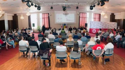 143 de ani de la crearea Societății Crucea Roșie din România sărbătoriți la Palatul Elisabeta, 4 iulie 2019. Video TVR