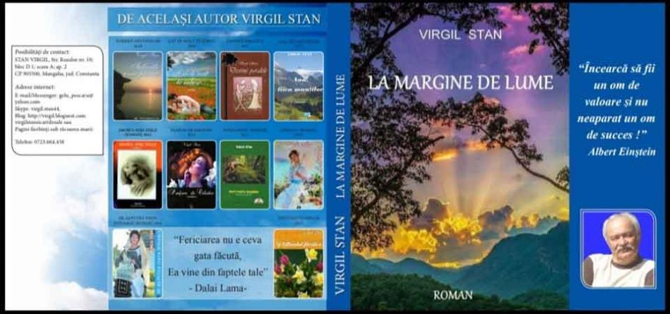 "Fragment din romanul ""LA MARGINE DE LUME"""