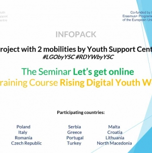 The Seminar Let's get online The Training Course Rising Digital Youth Workers