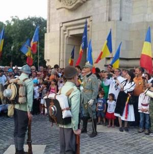 Zi istorică azi, 4 august 2019, la Arcul de Triumf – București.