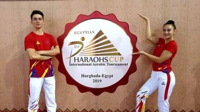 Gimnastică pe tărâmul faraonilor!