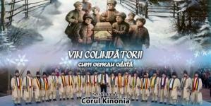 """Concert de colinde al Corului Kinonia la Sala Mare a Palatului Culturii """"Teodor Costescu""""!"""