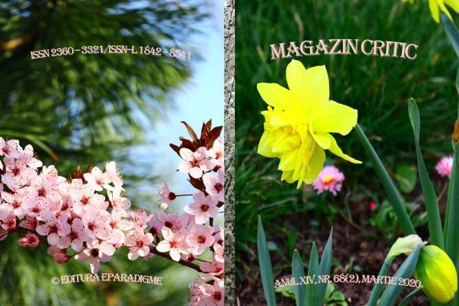 Exclusiv: A apărut numărul 68 al revistei MAGAZIN CRITIC