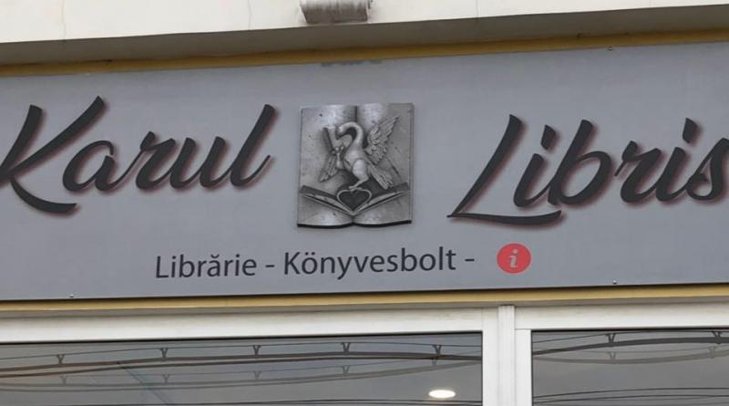 Antiromânism cu carul la librăria Karul Libris din municipiul Carei, județul Satu Mare, ROMÂNIA!