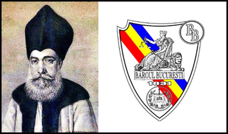 La 30 septembrie 1831 era întocmit textul actului de naștere al Baroului din București