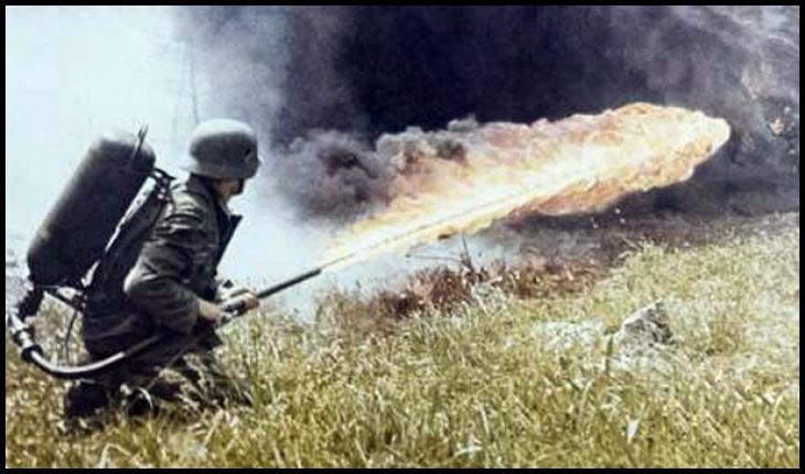 La 18 octombrie 1944, soldații români ai Regimentului 34 Infanterie erau arşi de vii cu aruncătoarele de flăcări