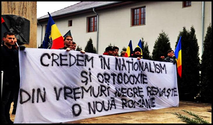 Ziua Națională sărbătorită la mormântul lui Mihai Viteazul, Foto: comunitateaidentitara.com