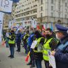 Acum în fața Guvernului României! Polițiștii protestează! Cer demisia premierului Florin Câțu!