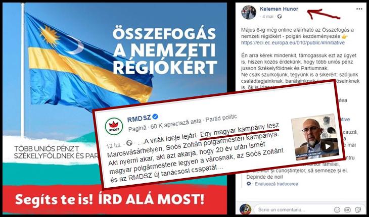 """O Țară atacată din interior: la Tg. Mureș, Kelemen Hunor a spus că """"se face campanie electorală maghiară"""", Foto: Facebook / Kelemen Hunor"""