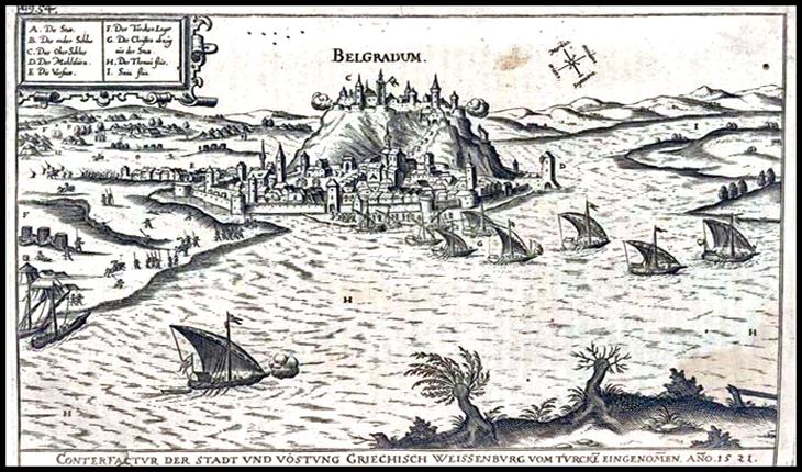 22 Iulie 1456: Iancu de Hunedoara victorios, la Belgrad, împotriva lui Mahomed al II–lea, cuceritorul Constantinopolului