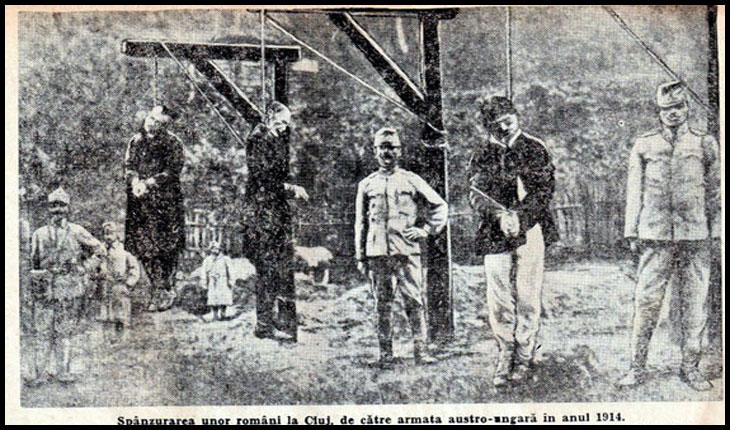 12 septembrie 1940: La Baia Mare au fost spânzurați 14 români, iar canonicul Breban a fost arestat