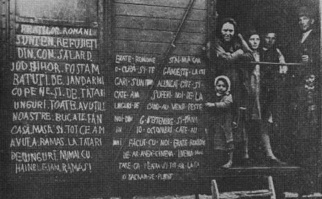 5 octombrie 1940: intelectualitatea românească din Arad și din împrejurimi, încărcată și înghesuită ca pe vite într-un tren de marfă