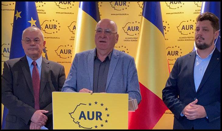 AUR a lansat un plan de scoatere a României din criza actuală și de relansare a economiei naționale
