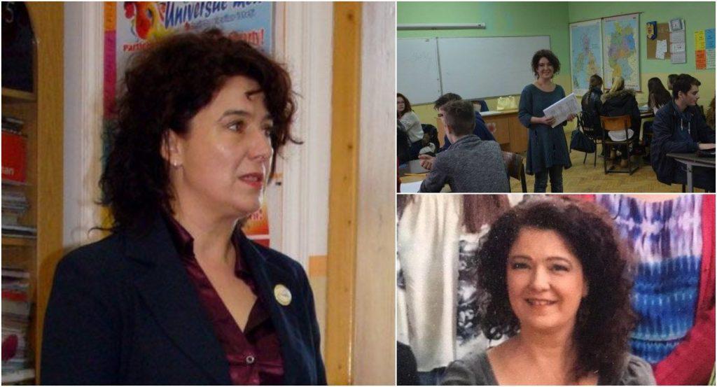 Moarte șocantă a profesoarei Adriana Bunea