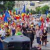 Video – Protestul de azi din București